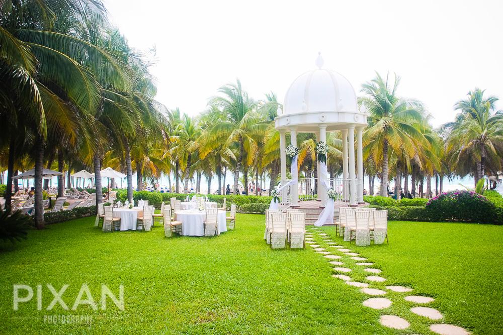 Riu Palace Riviera  wedding venues and setups 72013