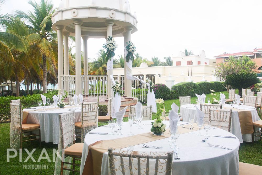 Riu Palace Riviera  wedding venues and setups 52013