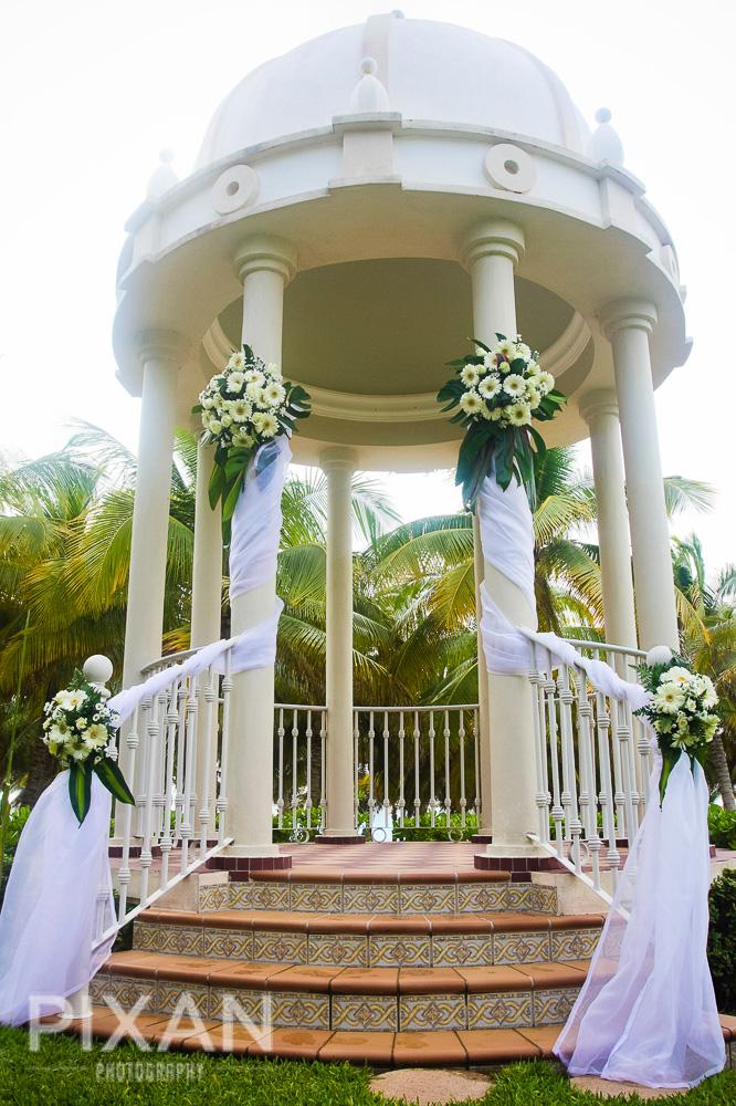 Riu Palace Riviera  Maya wedding venues and setups 92013