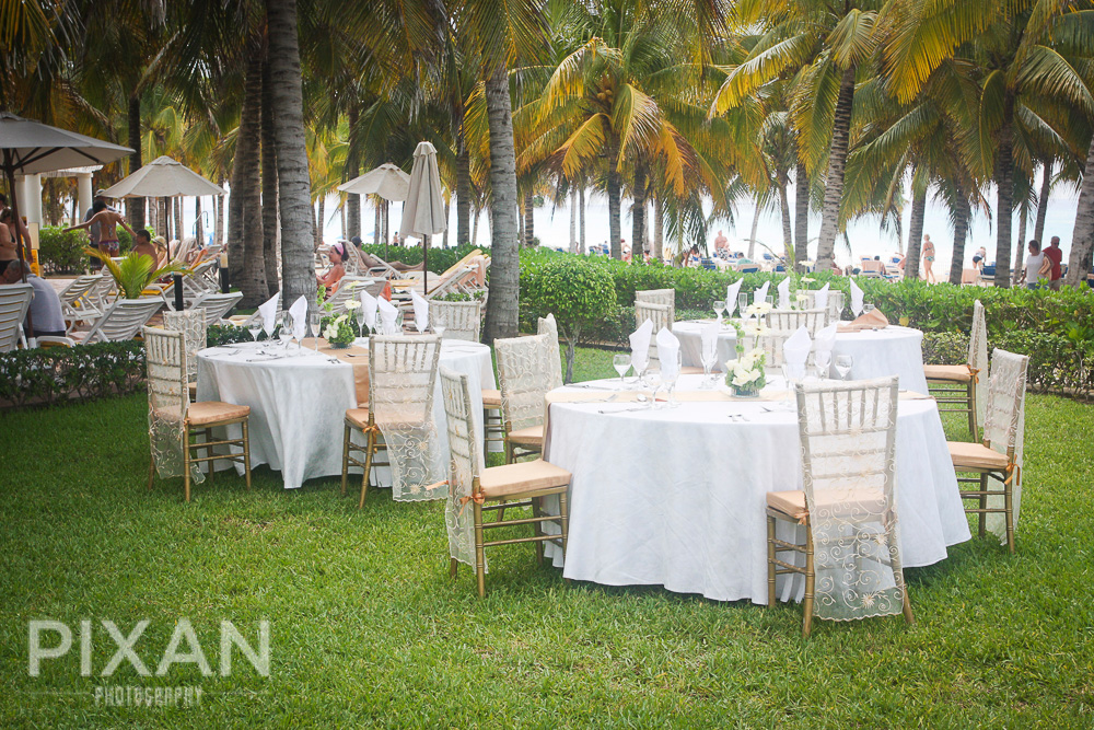 Riu Palace Riviera wedding venues and setups 42013