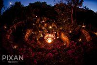 Xcaret Mexico wedding venues and setups 12013