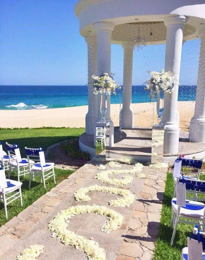 Our Ceremony & Reception Set Up at Dreams Los Cabos
