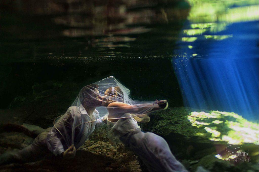 Fine art photography underwater