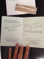 Passport Invitations