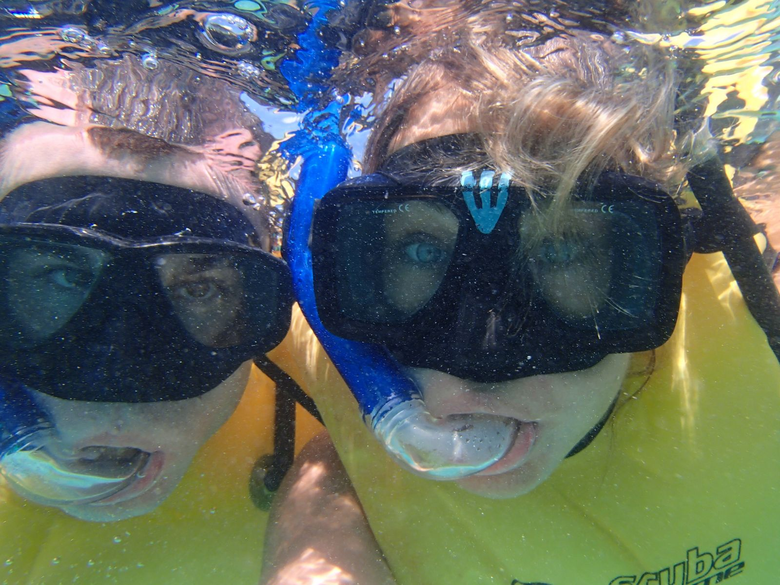 Snorkeling with Sea Turtles in Mexico Selfie!