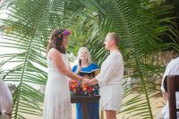 Iintimate ceremony in a magical place