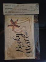 Postcard Guest Book Pouch