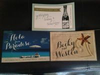 Post Cards in the Pouch