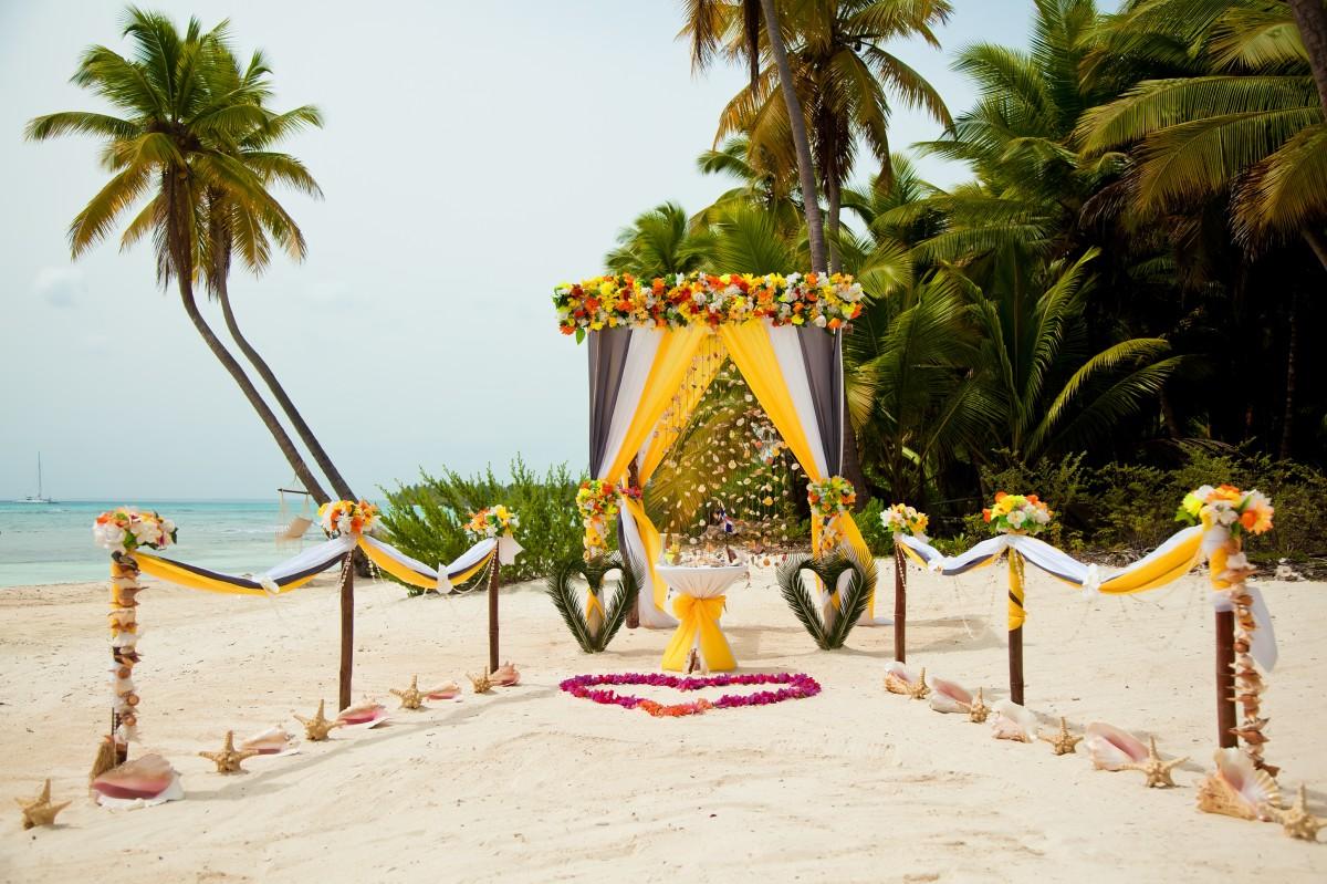 Dominican Republic my wedding day