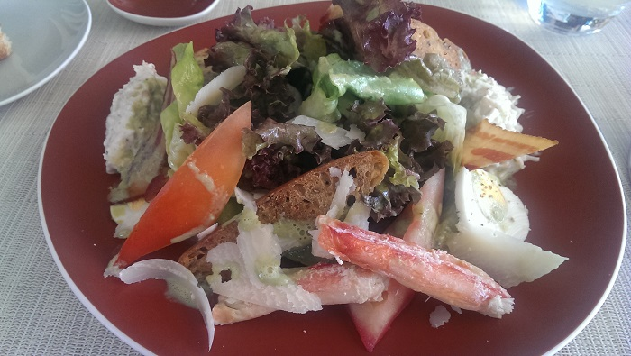 brando crab salad
