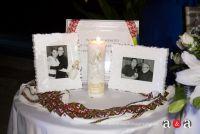 Memorial Table set up at reception