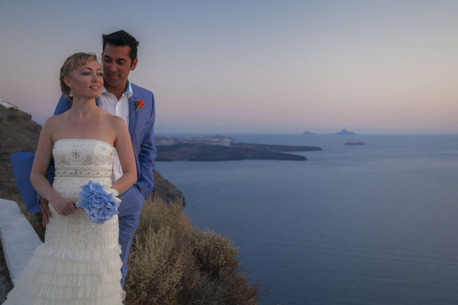 weddings In santorini 2