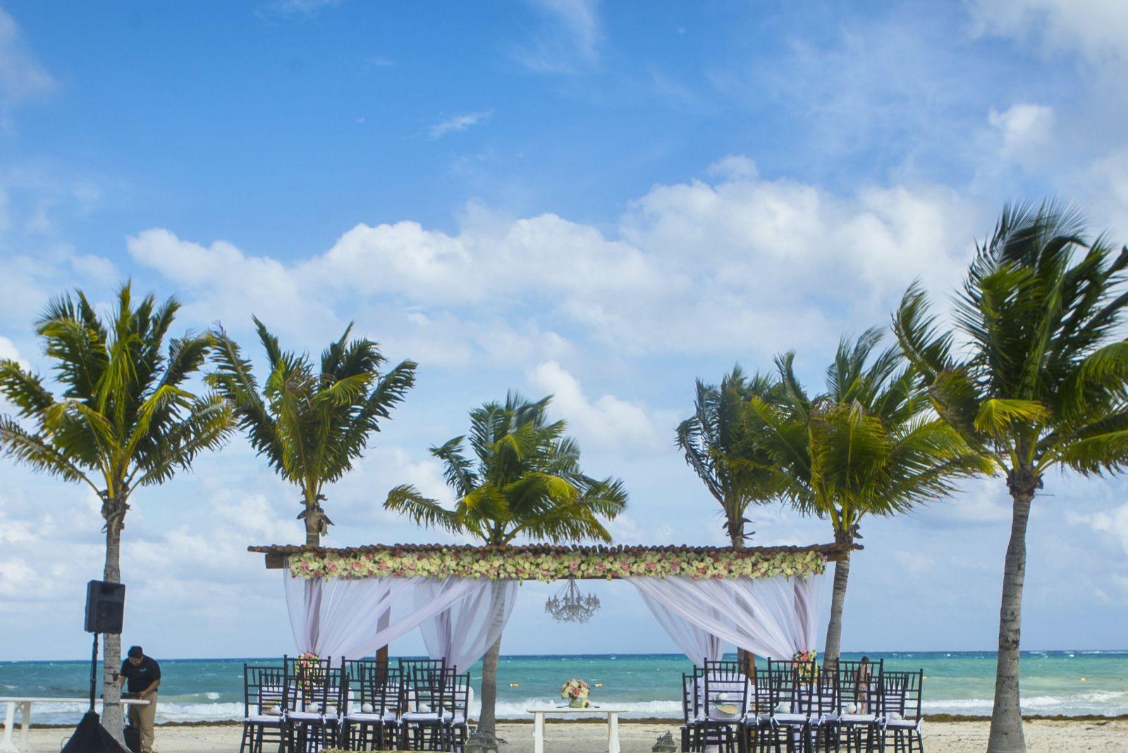 Wedding at Secrets Maroma Beach