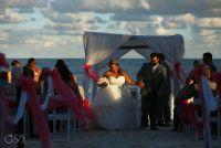 Destination Wedding Ocean Coral Turquesa