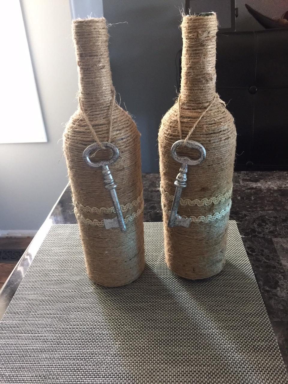 bottle decorations