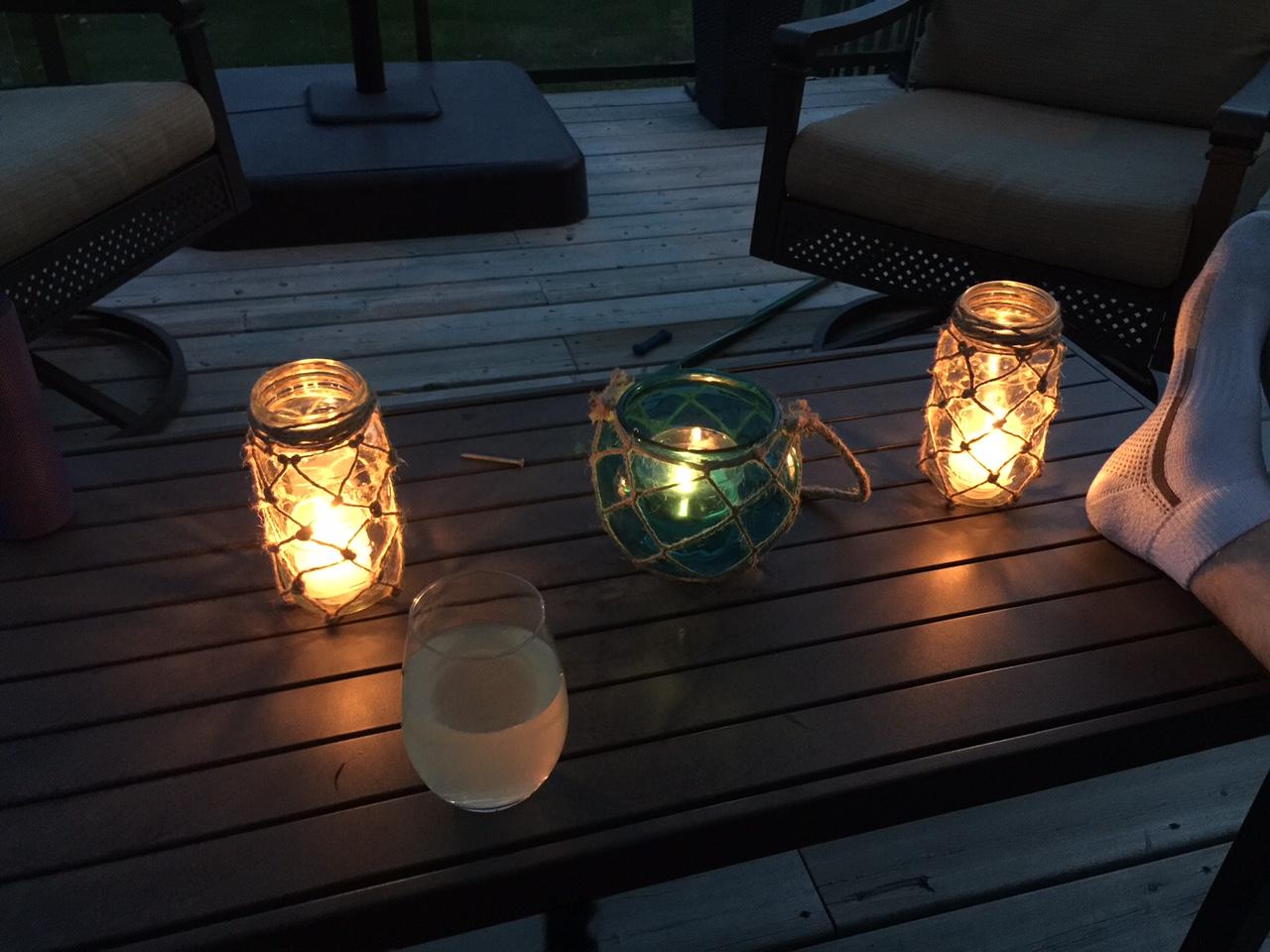 lanterns night