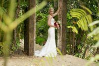 Classy and beautiful wedding dress