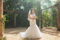 J&C classy wedding dress