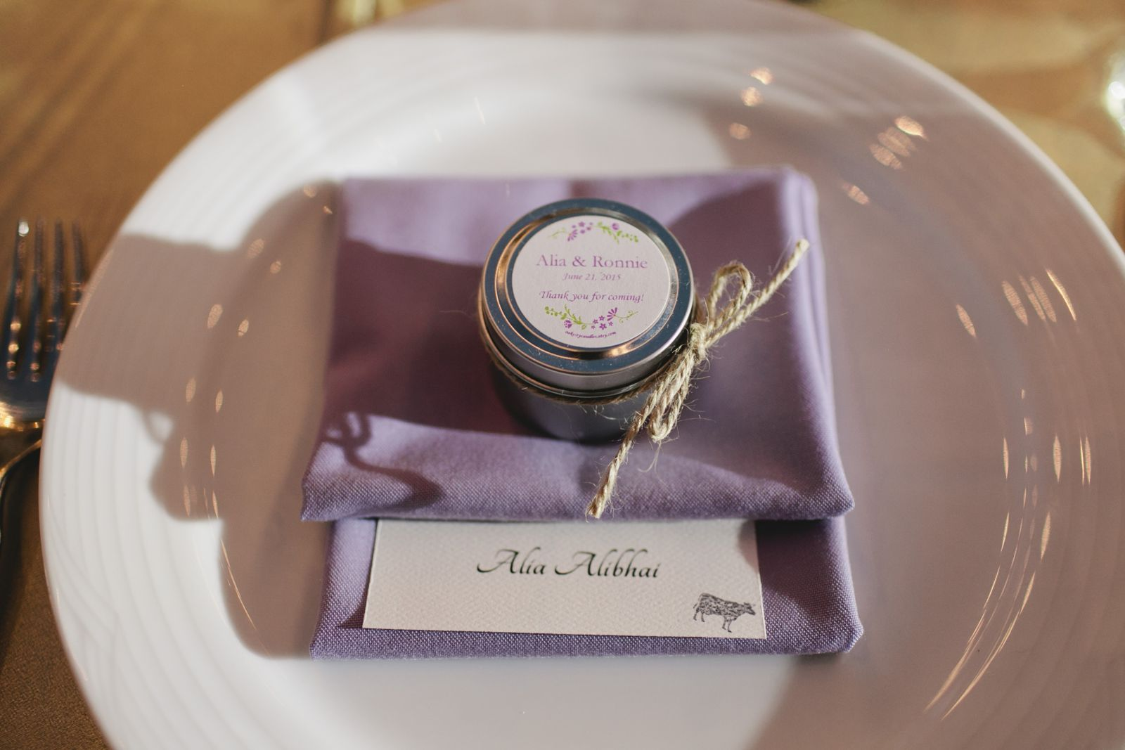 Name Cards and Place Setting