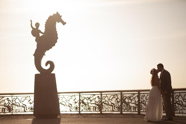 the seahorse of Puerto Vallarta