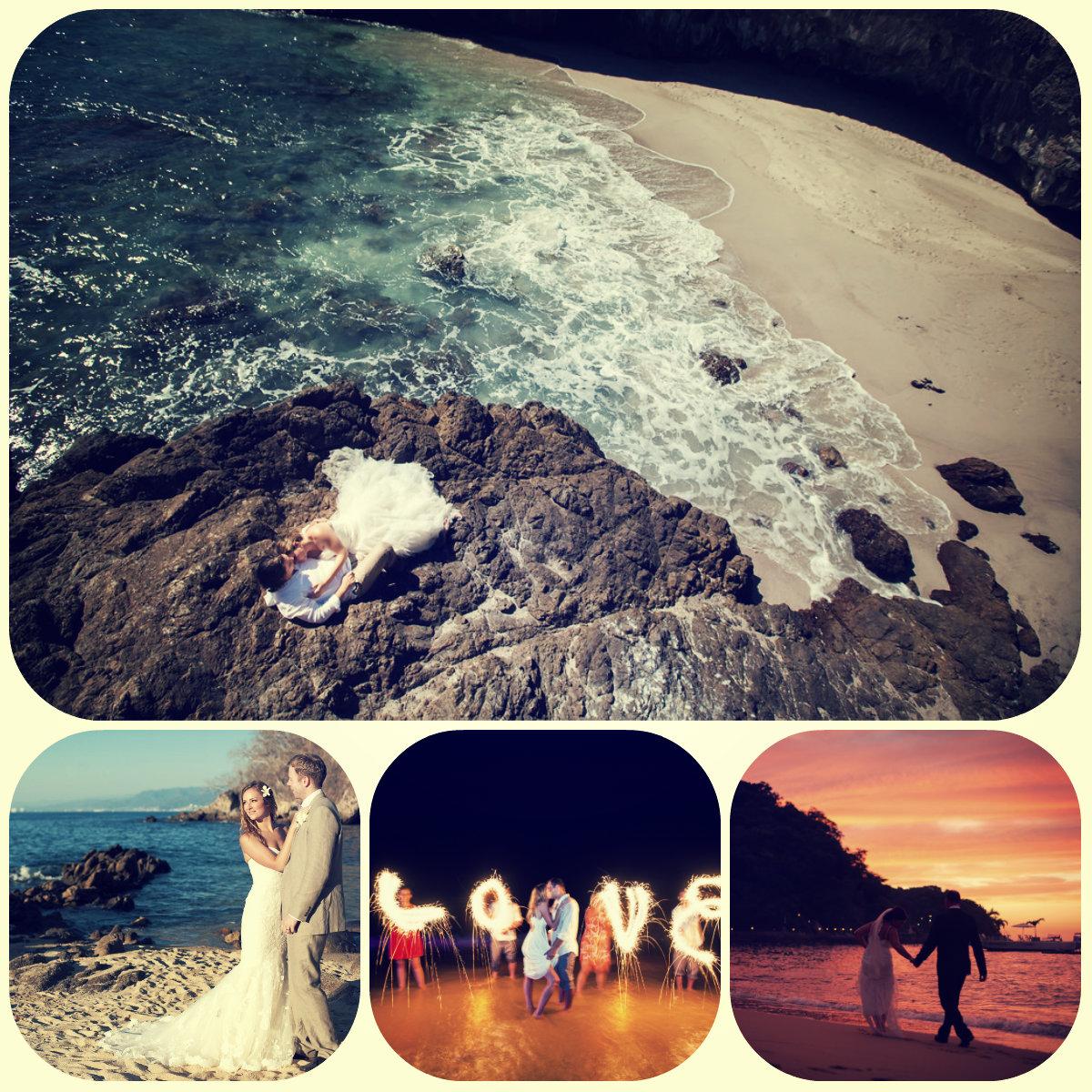 Collage postal pics