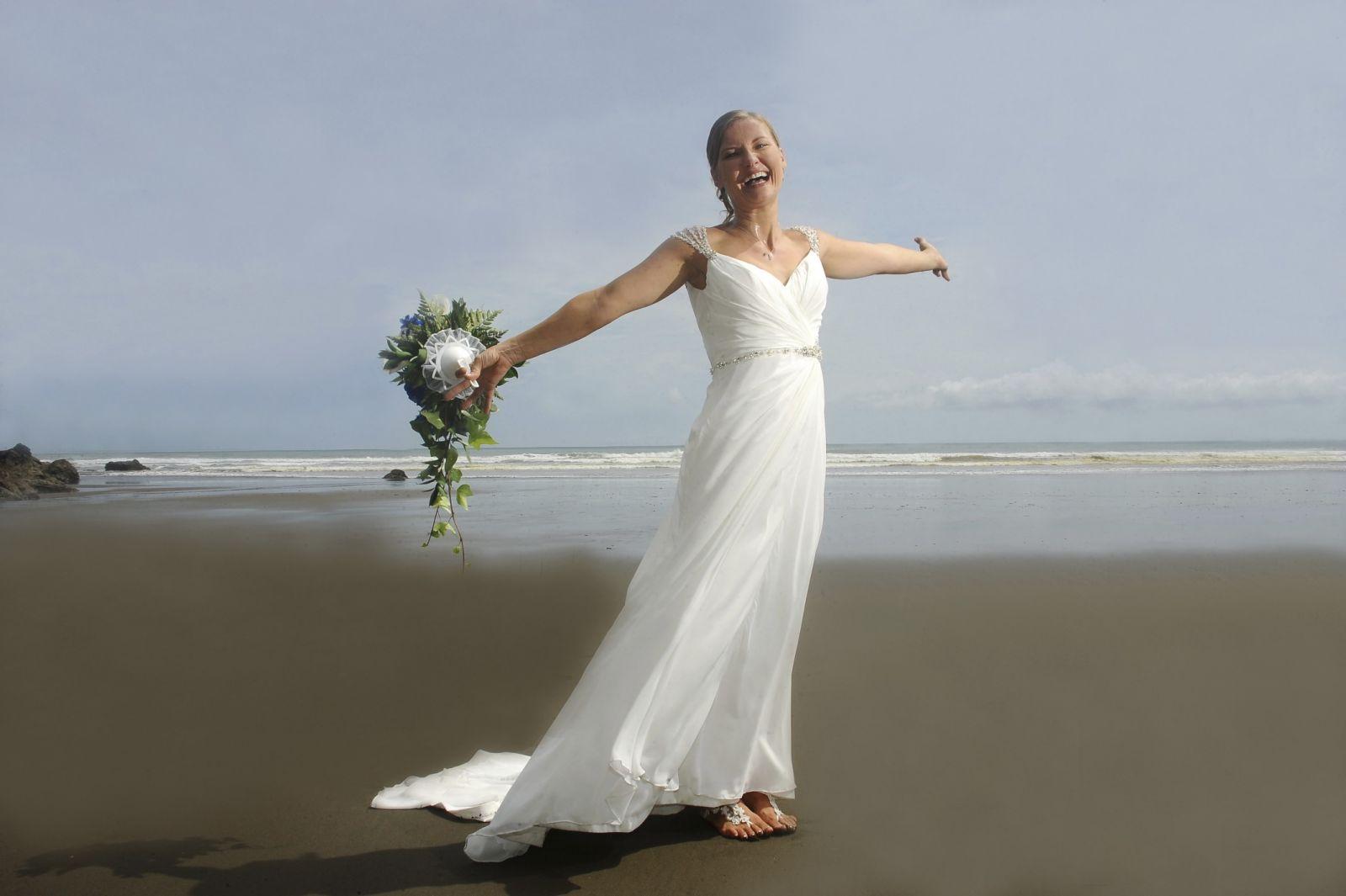 Beach wedding destination