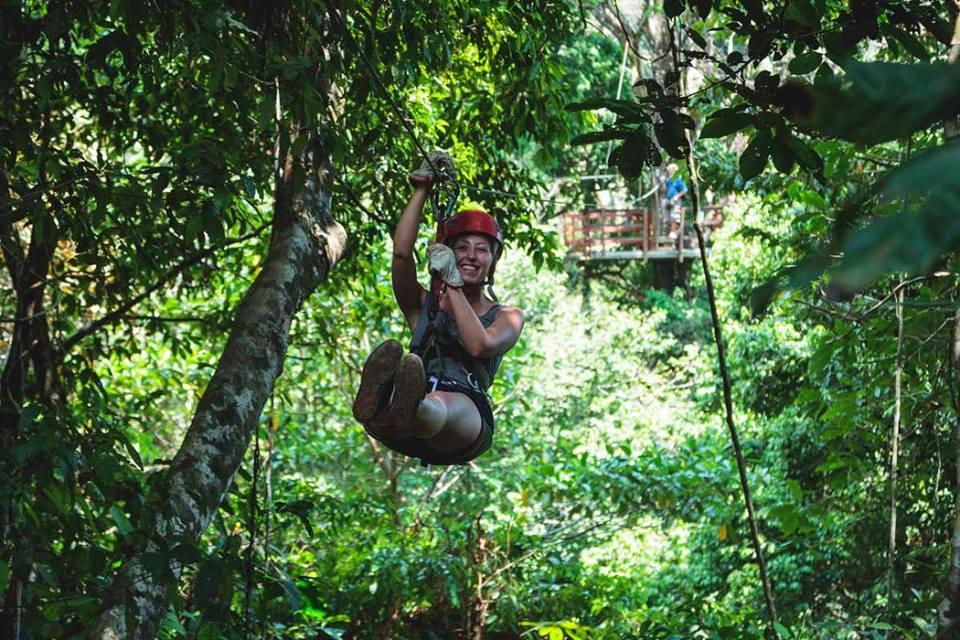 Canopy in Hacienda Baru