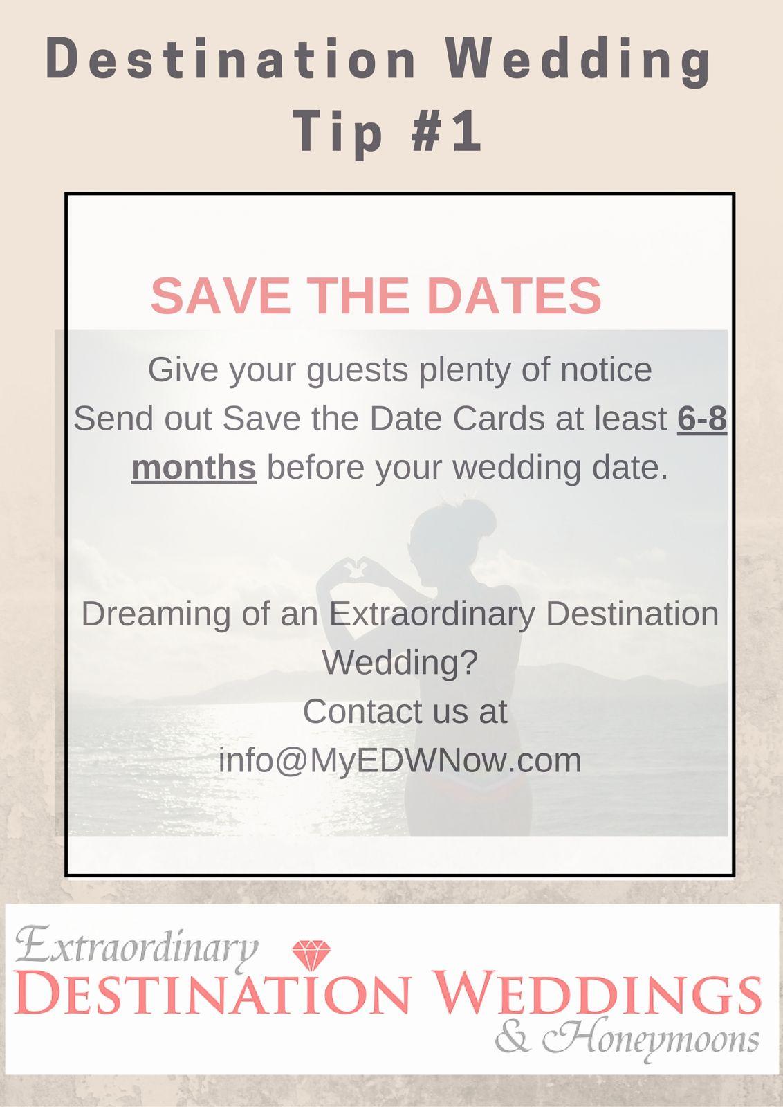 Destination Wedding Help