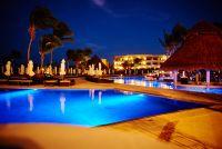 Secrets Maroma Beach at night