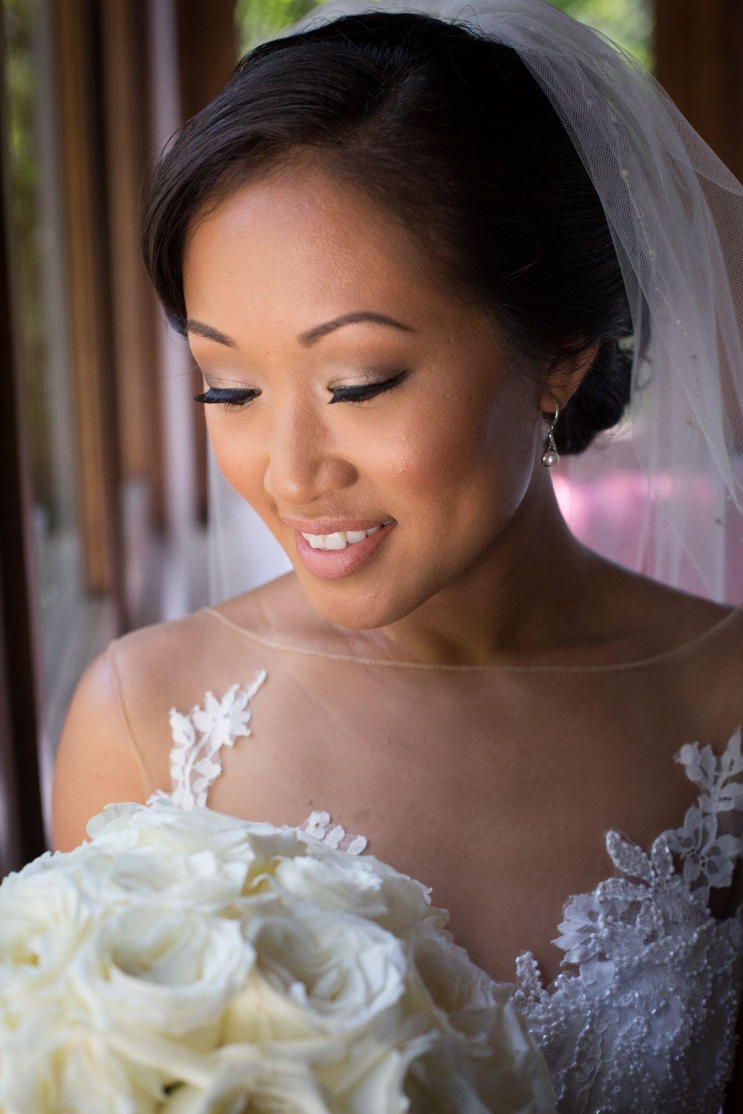 a classy bride
