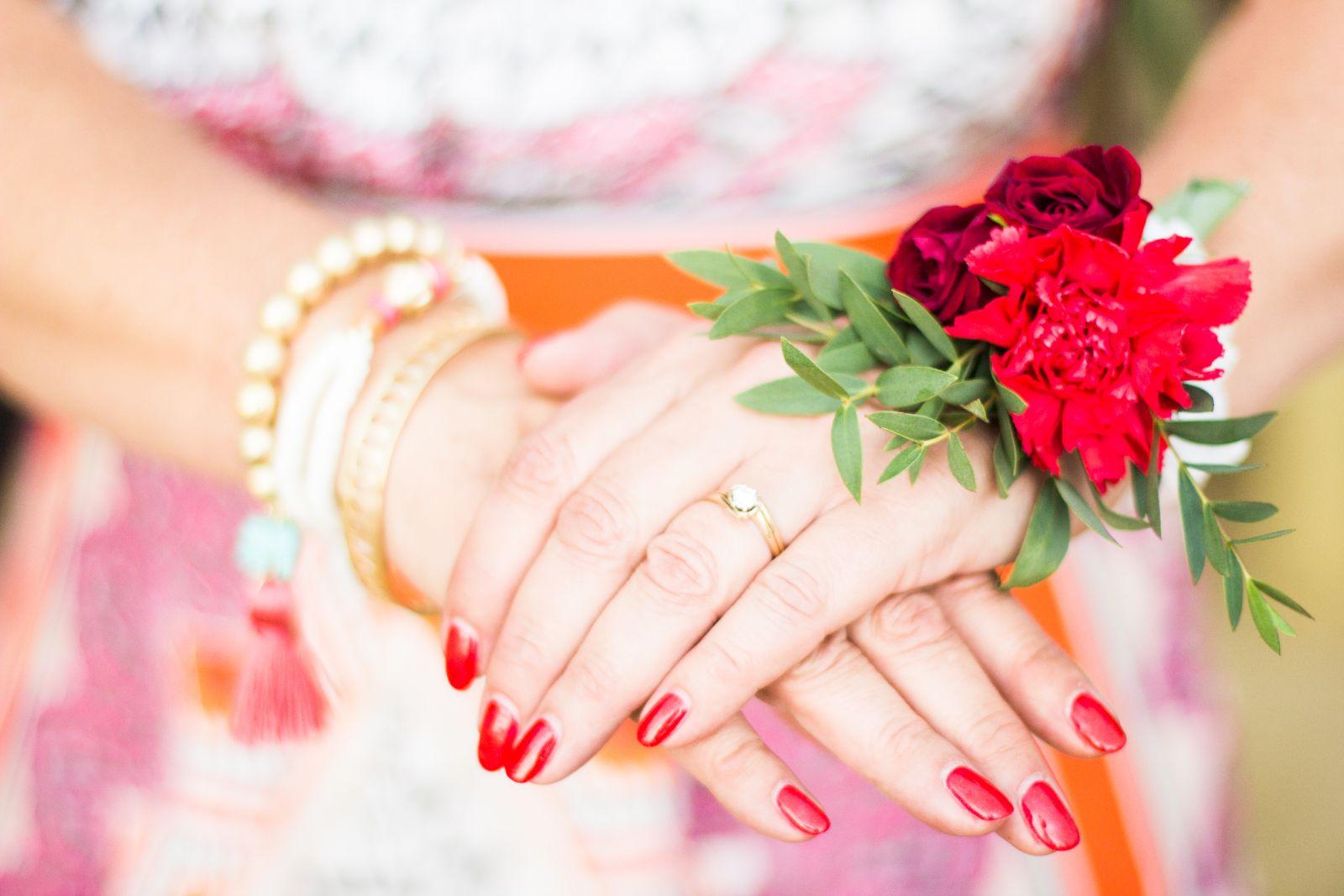 Bridal party corsage
