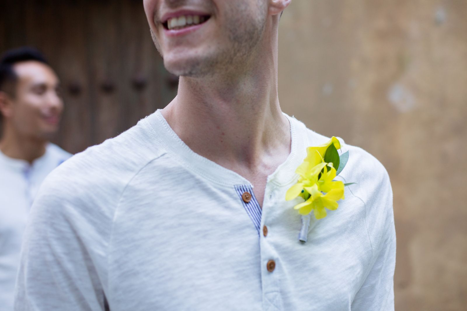 K&K -exotic groom´s boutonniere