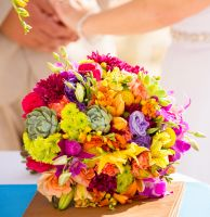 wedding flowers / bridal bouquet and decoration