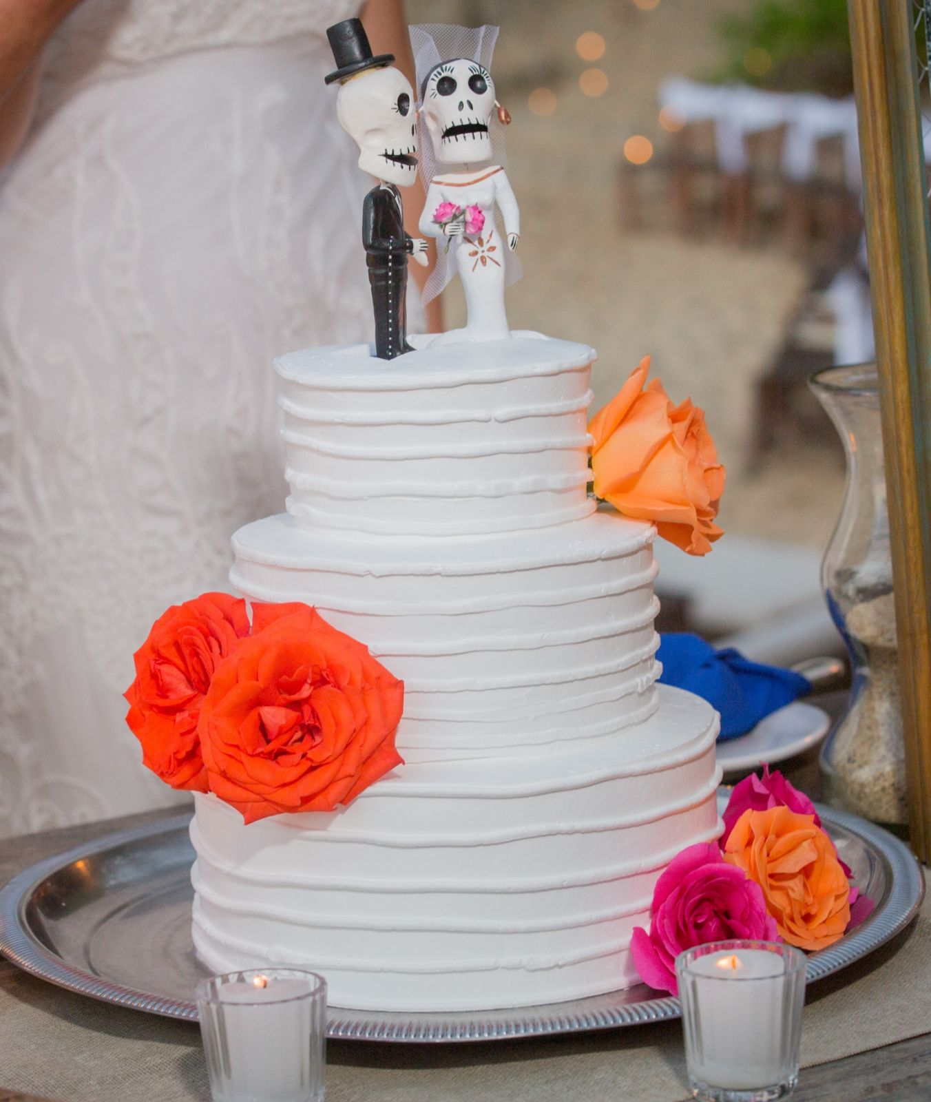 Mexican weddings cake