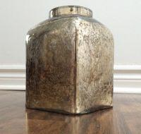 gold mercury bouquet vase
