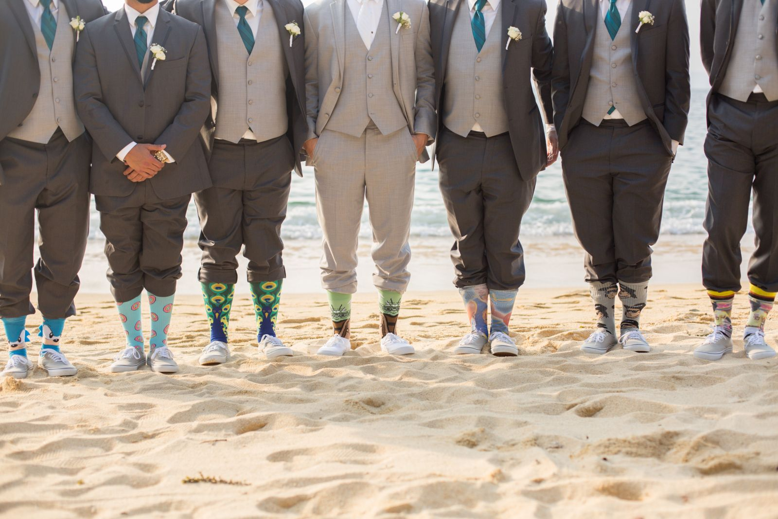 "Groom and Groomsmen at ""Las Caletas"""