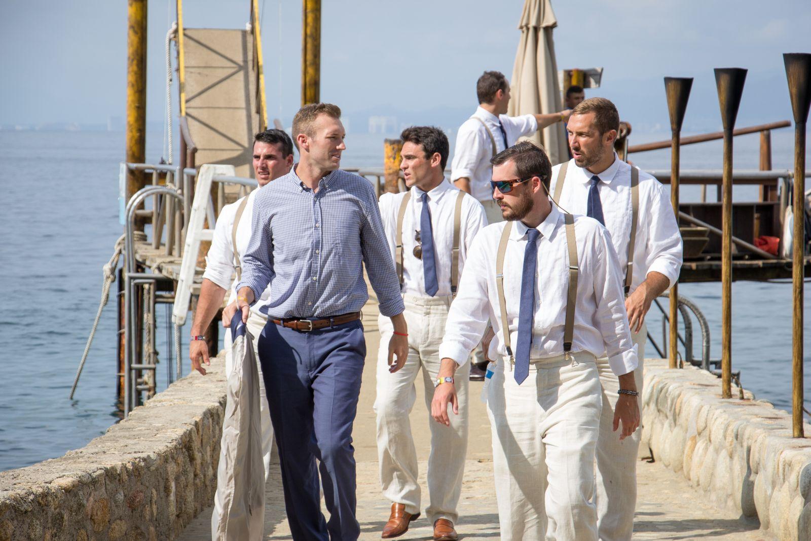 """arraving to """"Las Caletas"""" the premier beach wedding venue in mexico"""