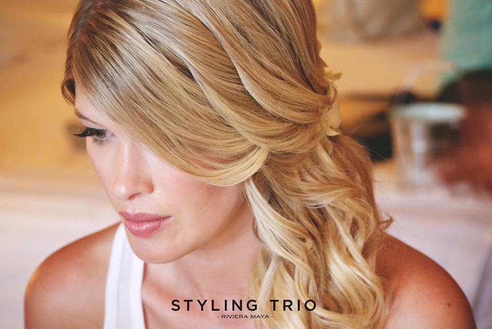 Styling Trio hair