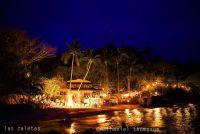 Las Caletas Wedding At Night