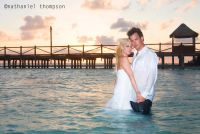 Isla Mujeres Trash The Dress session