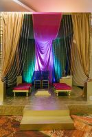 Indian Wedding Ceremony Setup by Zuniga Productions at Moon Palace Golf & Spa