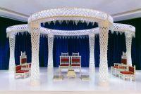 Indian Wedding Ceremony Setup by Grupo Gama