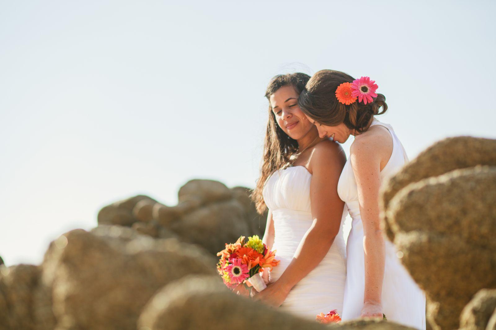 LGBT Destination wedding - Las Caletas, Mexico