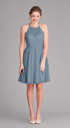 Bridesmaid Dress COLOUR - Slate Blue