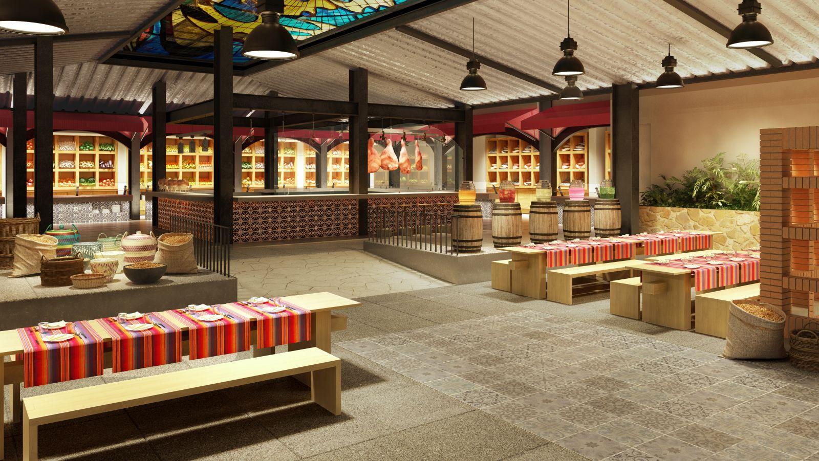 El mercado 360 restaurant