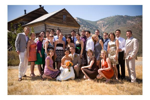 Santa Barbara Wedding Friends