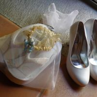 Bride wedges, when you get tired of you new uncomfortable shoes you´ll love the feel of this wedges super light and with hand sewn crystals.
