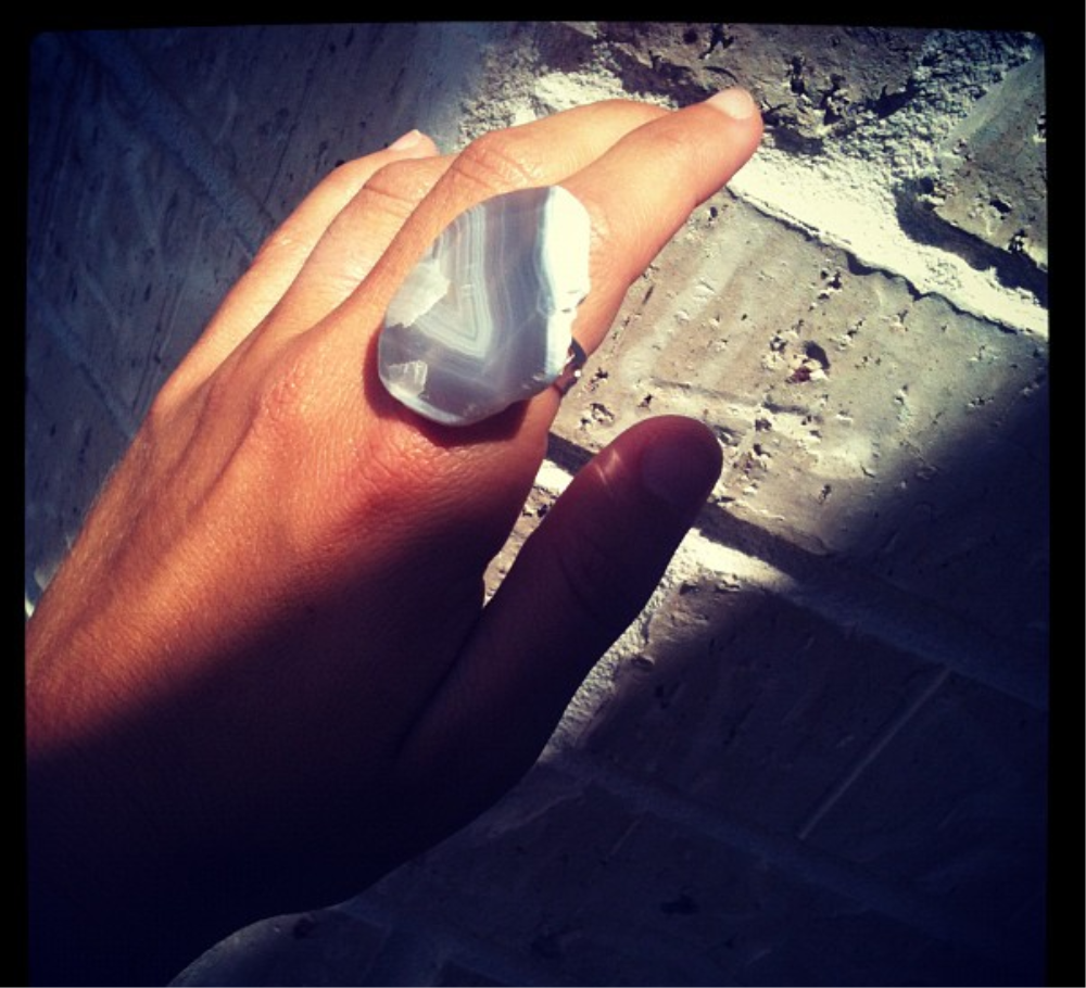 Handcrafted Agate Ring