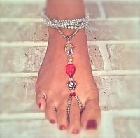 {Red-i} By Chelsea One of a Kind Barefoot Jewelry