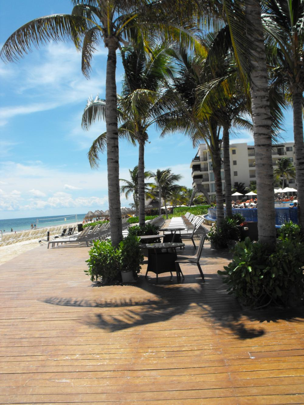 The Beach Deck, it was huge big enough for cocktail hour and a reception with perhaps some dancing in the sand, this was my fav location for a reception